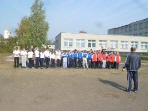 Школьный турнир по русской лапте