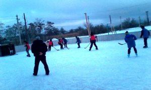 Школьный турнир по хоккею