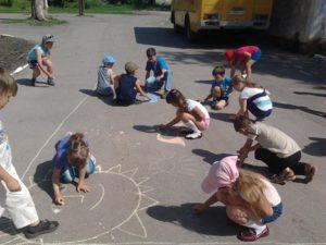 Летний школьный лагерь