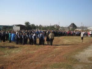 Учебная тренировка эвакуации учащихся школы и персонала
