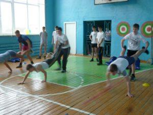 Спортивная игра «Один день в армии»