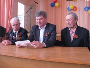 Встреча с ветераном ВОВ Букреевым А.С.