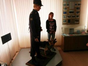 Экскурсия в музей УМВД России