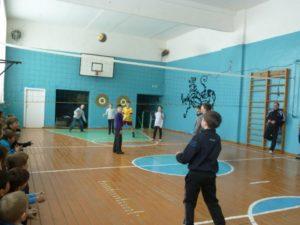Соревнование по волейболу среди учащихся 5-х классов